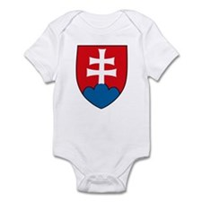 Slovakia Coat of Arms Infant Creeper