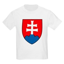 Slovakia Coat of Arms Kids T-Shirt
