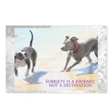 Sobriety Fun Postcards (Package of