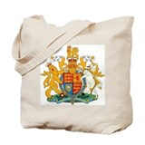 British Coat of Arms Tote Bag