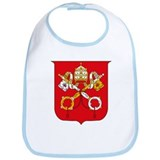 Vatican Coat of Arms Bib