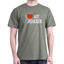 I Love My Kickboxer T-Shirt