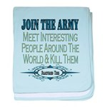 Join The Army Infant Blanket