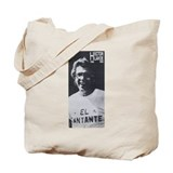 Cute El cantante Tote Bag