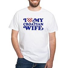 I Love My Croatian Wife Shirt