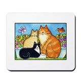 DANTE & FRIENDS Cat Lover Computer Mousepad