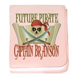 Future Pirates Infant Blanket