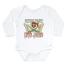 Captain Jameson Long Sleeve Infant Bodysuit