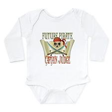 Captain Judge Long Sleeve Infant Bodysuit