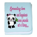 Spreading Love Pandas Infant Blanket