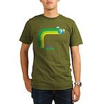 Think Green Earth Rainbow Organic Men's T-Shirt (d