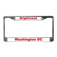 Brightwood License Plate Frame