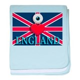 I Love England Infant Blanket