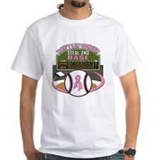 Dont Let Cancer Steal 2nd Base Shirt