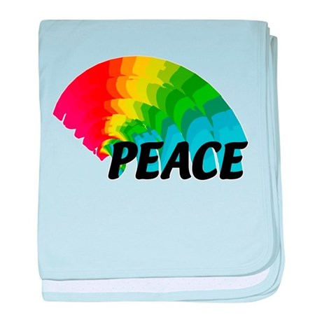 Rainbow Peace Infant Blanket