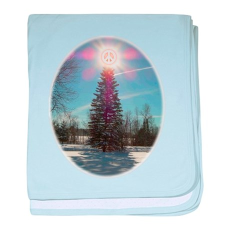 Christmas Peace Infant Blanket