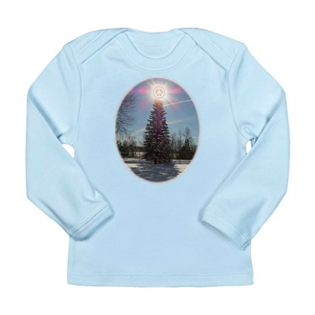 Christmas Peace Long Sleeve Infant T-Shirt