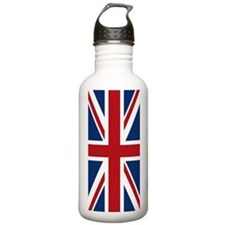United Kingdom Union Jack Flag Water Bottle