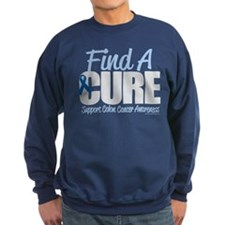 Colon Cancer Find A Cure Sweatshirt