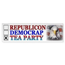 Tea Party Bumper Sticker