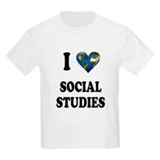I Love School Shirts Gifts T-Shirt