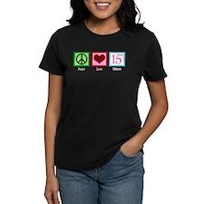 Peace Love Fifteen Tee