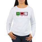Peace Love Fifteen Women's Long Sleeve T-Shirt