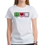Peace Love Fifteen Women's T-Shirt