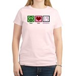 Peace Love Fifteen Women's Light T-Shirt