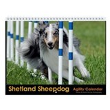 Shetland Sheepdog Agility Calendar