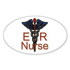 Cute Er nurse Decal