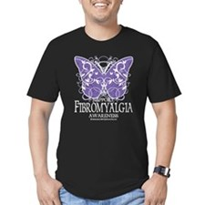 Support Fibromyalgia Butterfl T