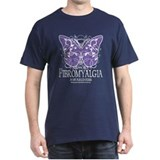 Support Fibromyalgia Butterfl T-Shirt