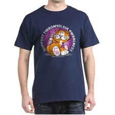 Support Fibromyalgia Cat T-Shirt