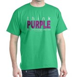 Think Purple Fibromyalgia T-Shirt