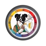 Miss Bindergarten Small Wall Clock