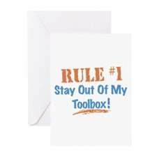 Toolbox Rules Greeting Cards (Pk of 10)