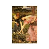 John William Waterhouse Rectangle Magnet