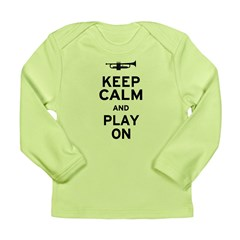 Keep Calm Long Sleeve Infant T-Shirt