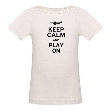 Keep Calm Organic Baby T-Shirt