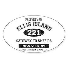 Ellis Island Decal