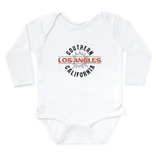 Los Angeles California Long Sleeve Infant Bodysuit