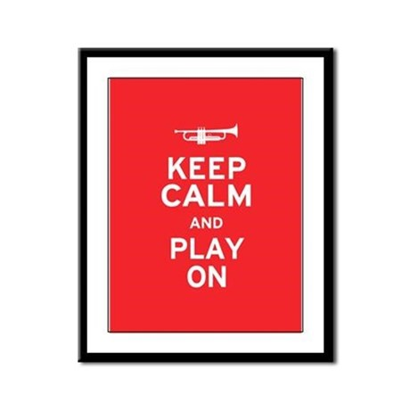 Keep Calm Framed Panel Print