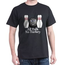 All Talk No Turkey Logo 3 T-Shirt Design Fron