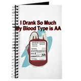 My Blood Type is AA Journal