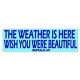 The weather is here, wish you were beautiful,