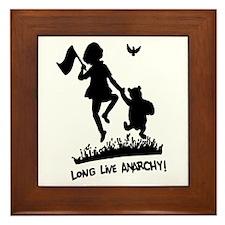 Long Live Anarchy Framed Tile