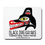 Black Dog Kayak Mousepad