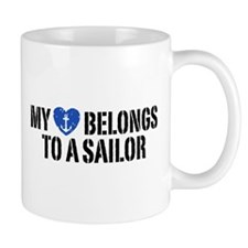 My Heart Belongs To A Sailor Mug