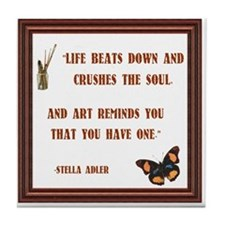 Art and Soul Tile Coaster